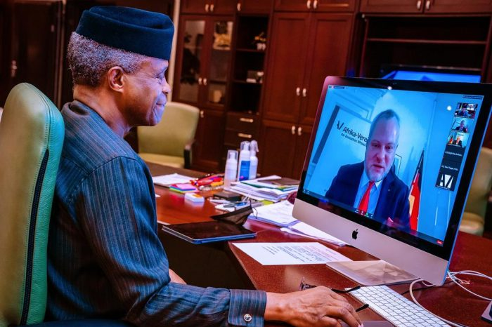 International Collaborations Crucial For Timely COVID-19 Recovery, Says Osinbajo